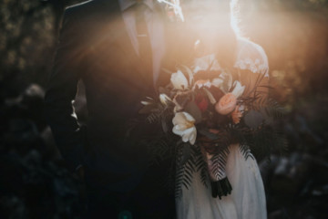 How to host a chic and safe small wedding at home on a budget