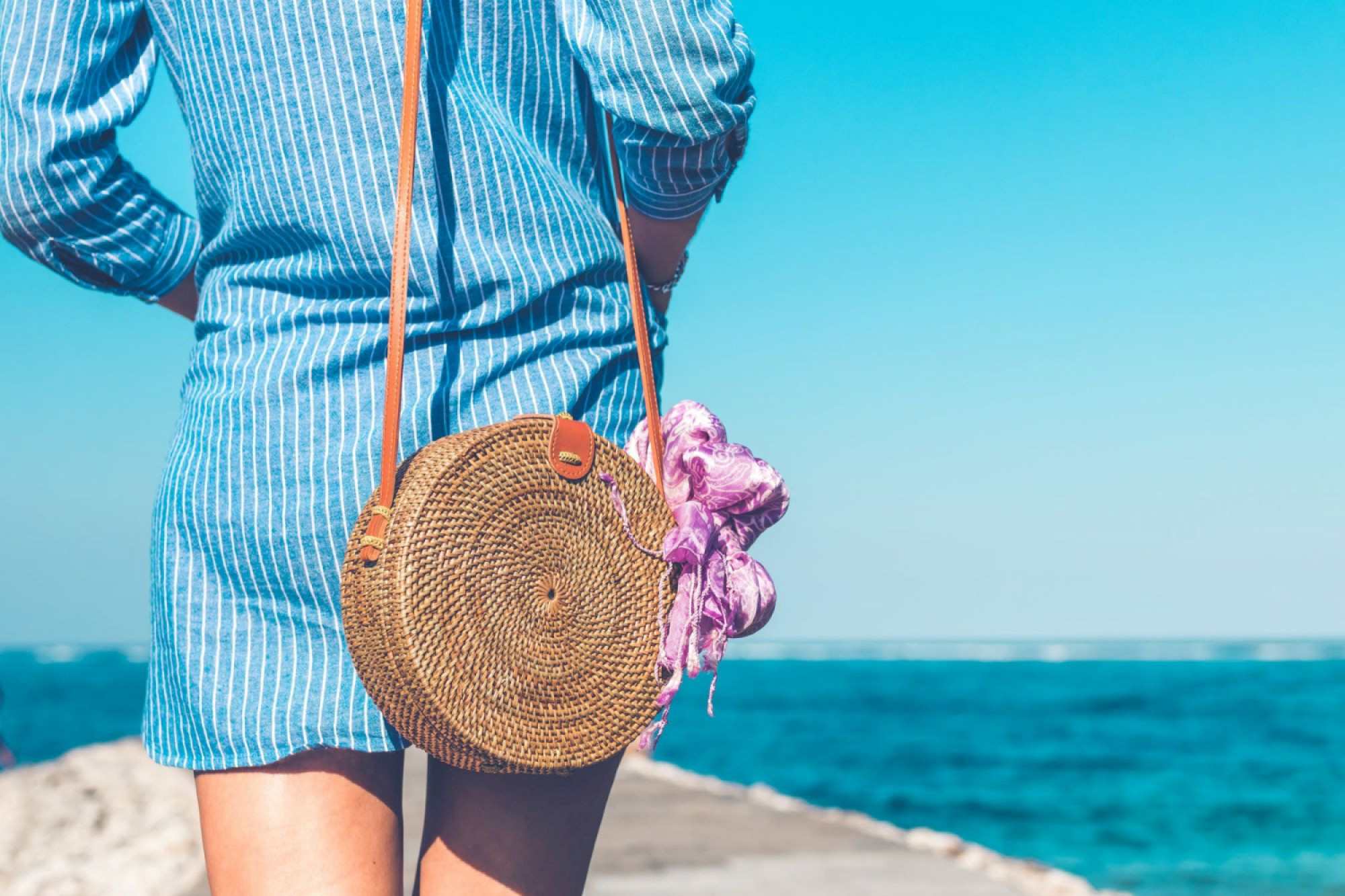 TREND ALERT: How To Style a Summer Scarf