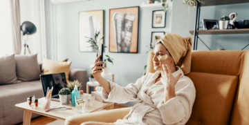 How To Host a Digital Skincare Party With Your Friends