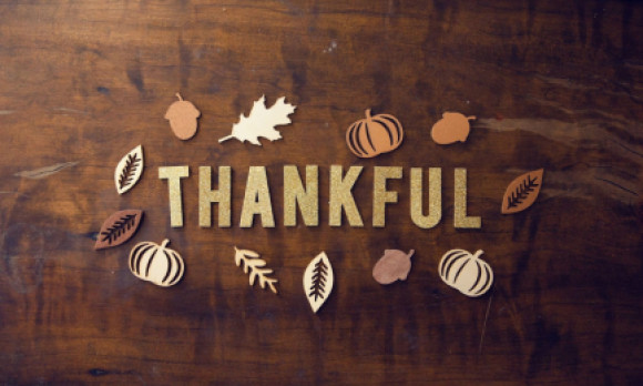 How to be Thankful All Month Long
