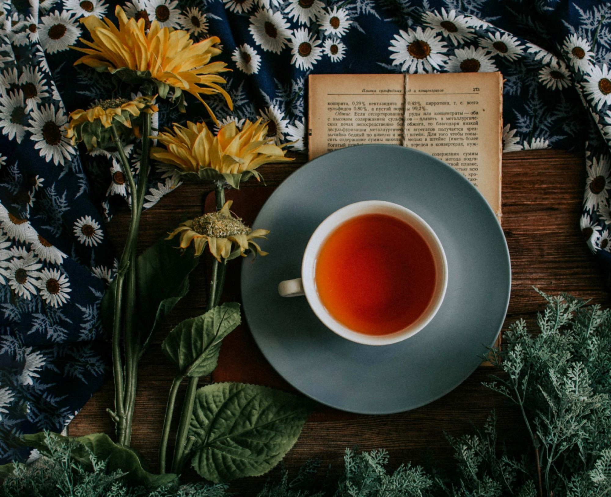 The tea you should drink based on your mood!